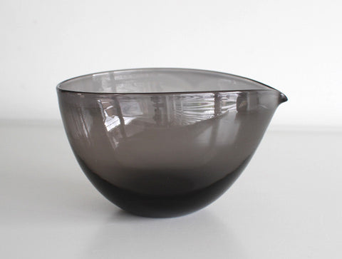 Black Katakuchi Bowl by Studio Prepa