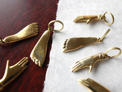 Foot Keyring by Carl Auböck at OEN Shop