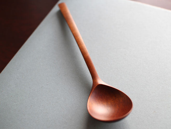 Lacquer Table Spoon by Atelier tree song at OEN Shop