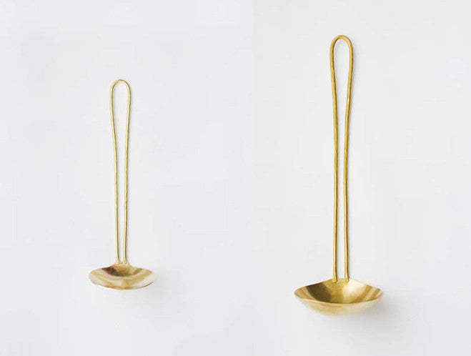 Brass Large Ladle by Lue Brass at OEN Shop