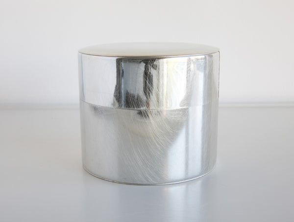 Large Round Tin Can