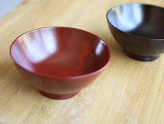 Large Bengara Rice Bowl by Maiko Okuno at OEN Shop