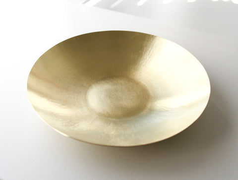 Large Brass Bowl by Yuta Craft