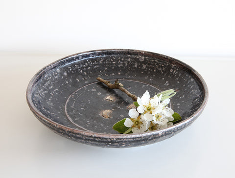 Black Rustic Bowl