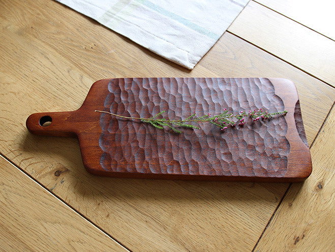 Black Cherry Chopping Board by Atelier tree song at OEN Shop