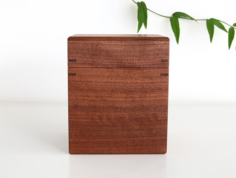 Walnut Tea Box M by Fujii Works
