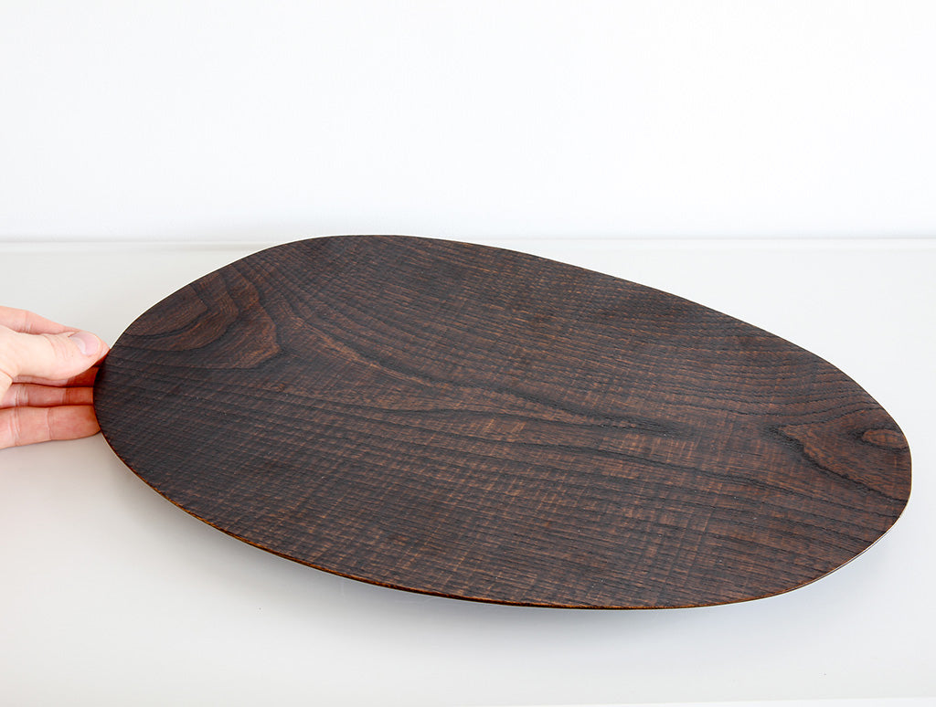 Large Nire Lacquer Dish by Dairoku at OEN Shop