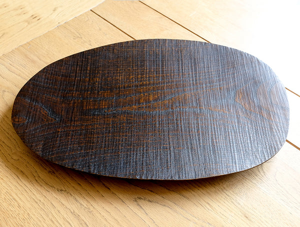 Large Nire Lacquer Dish