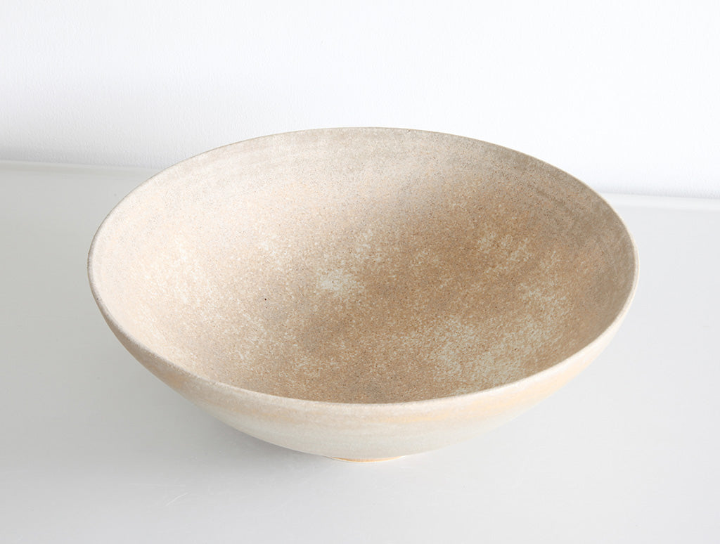 Faded Yellow Stone Bowl by Mark Robinson at OEN Shop