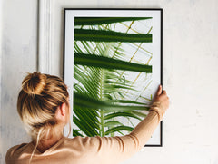 Layered Leaf Print by OEN Prints at OEN Shop