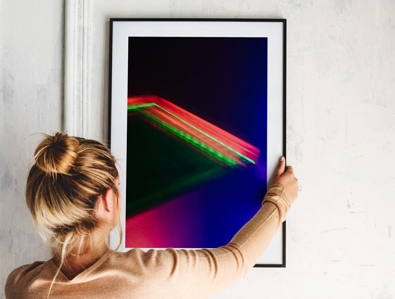 House of Light Rays Print