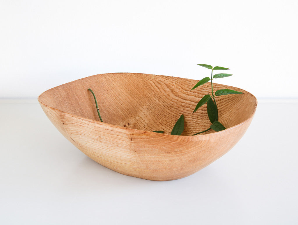 Square Light Cherry Bowl by Toru Sugimura at OEN Shop