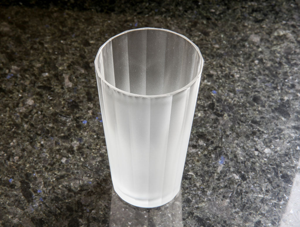 Deep Glass Cup by Yuki Osako at OEN Shop