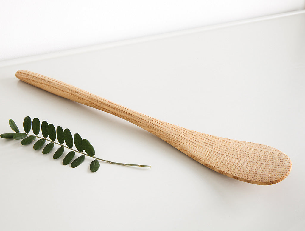 Chestnut Curved Spoon by Keiichi Sakai at OEN Shop