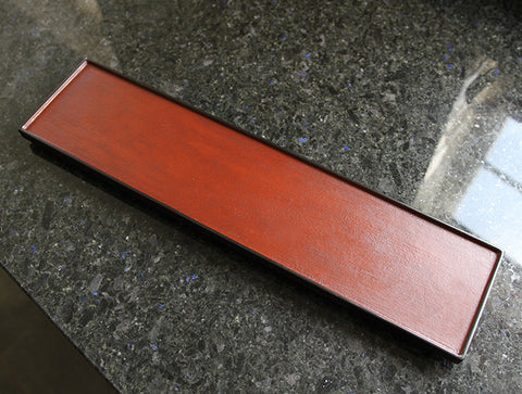 Long Rectangle Lacquer Tray by Akihiko Sugita