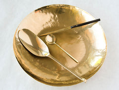 Large Brass Dish by Lue Brass at OEN Shop