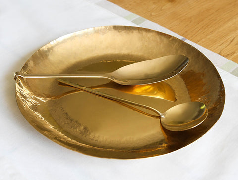 Large Brass Dish by Lue Brass