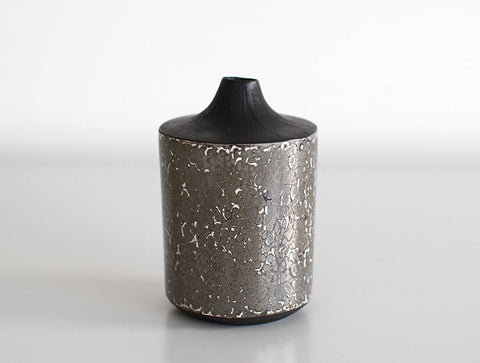 Marble Dry Lacquer Vase by Mie Yokouchi