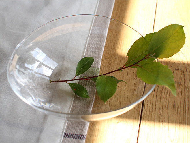 Clear Medium Lotus Bowl by Studio Prepa at OEN Shop