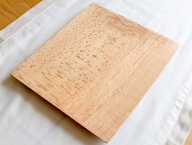 Medium Natural Square Tray