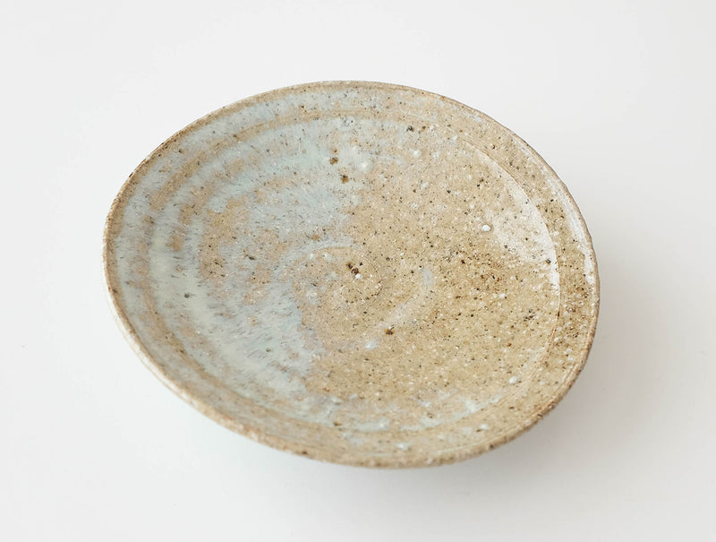 Curved Blue Dish