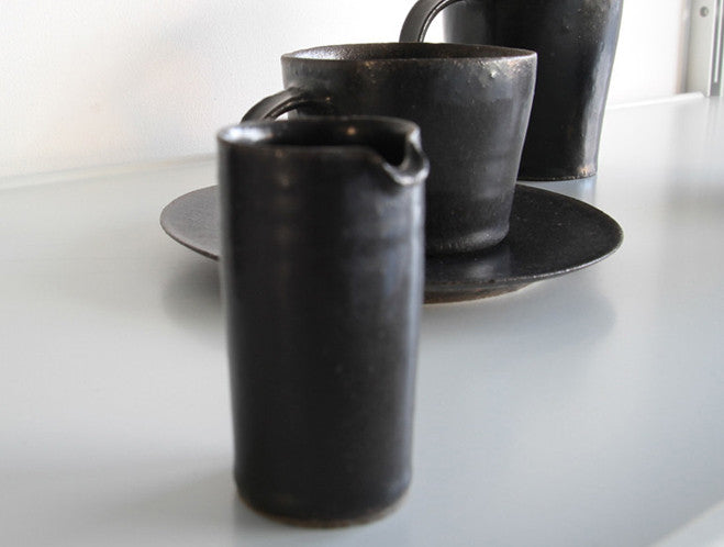 Black Milk Pitcher by Naotsugu Yoshida at OEN Shop