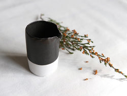 Black & White Milk Pitcher