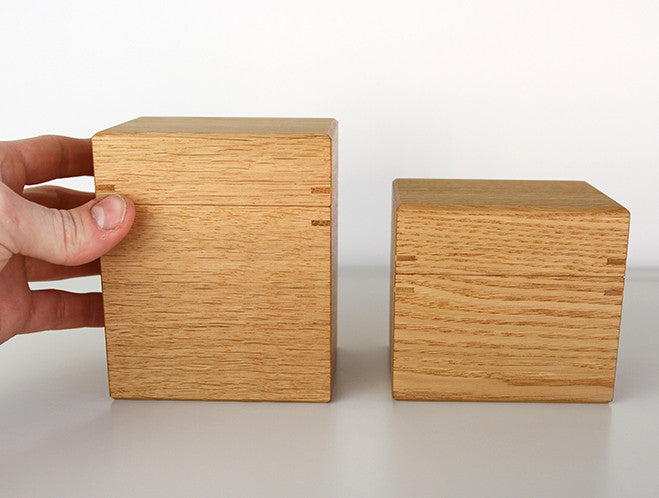 Oak Tea Box S by Fujii Works at OEN Shop