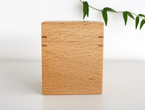 Oak Tea Box M by Fujii Works