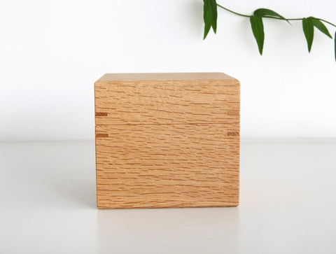 Oak Tea Box S by Fujii Works