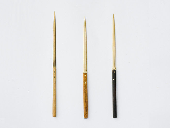 Paper Knife by Lue Brass at OEN Shop