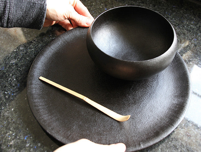 Large Lacquer Paper Tray by Akihiko Sugita at OEN Shop