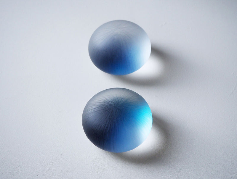 Ripple Glass Paperweight