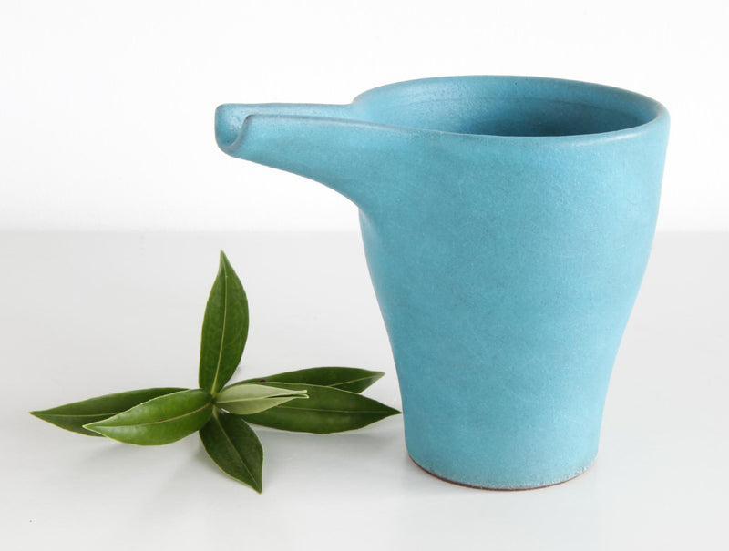 Blue Pigment Pitcher
