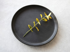 Large Green Plate by Mushimegane Books at OEN Shop