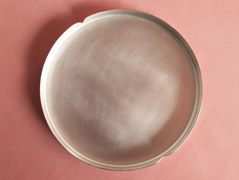 Copper / Tin Cake Plate L