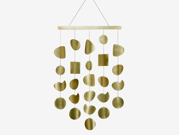 Large Quarry Wall Hanging Brass