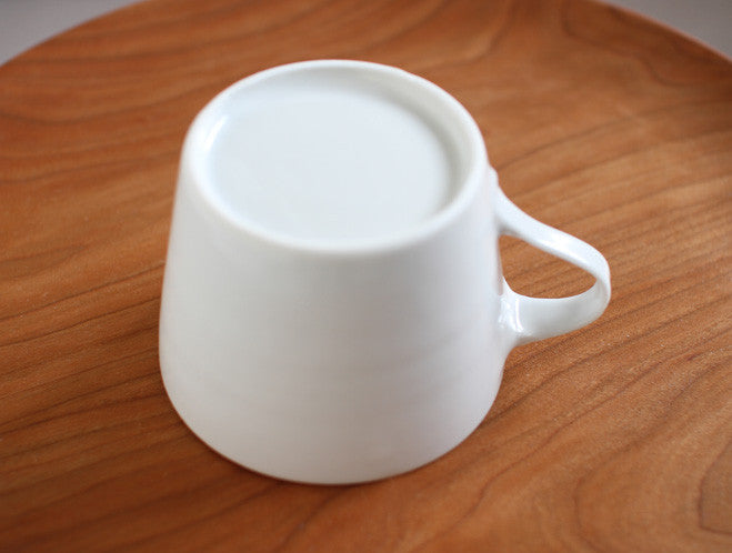Porcelain Coffee Cup by Naotsugu Yoshida at OEN Shop