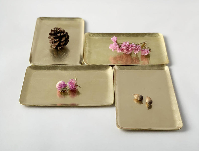 Rectangular Brass Dish