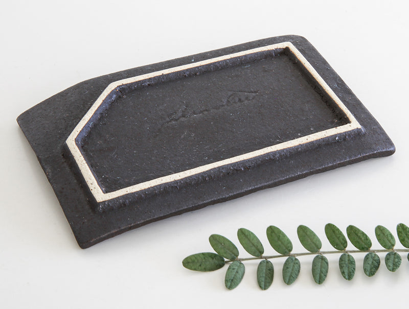 Sabi Kuro Rectangle Dish