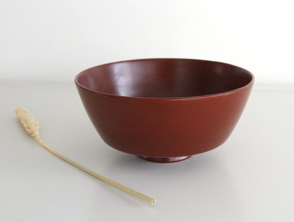 Small Red Lacquer Bowl
