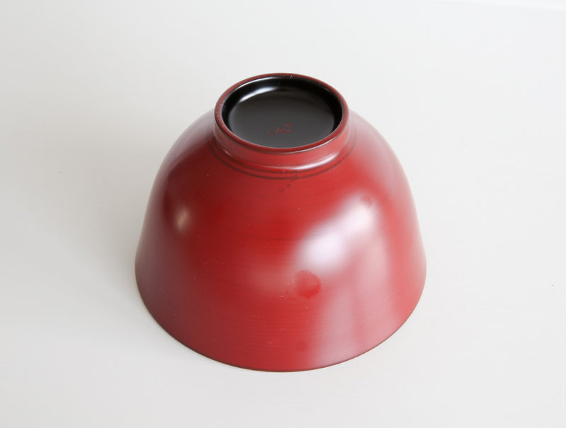 Red Winged Soup Bowl