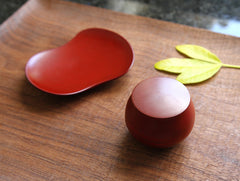 Small Red Container by Maiko Okuno at OEN Shop