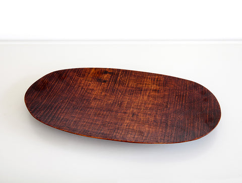 Walnut Lacquer Dish by Dairoku