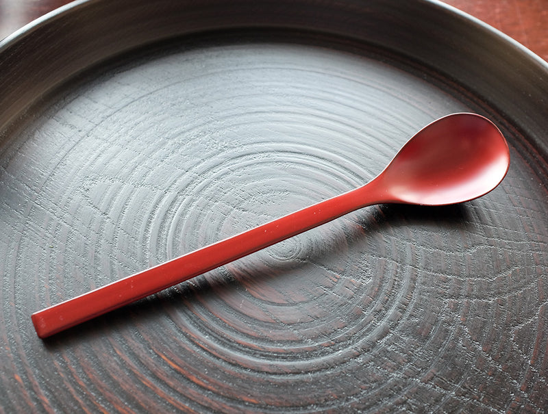 Red Lacquer Spoon