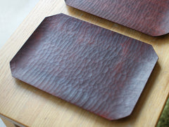 Red Plant Dye Tray by Yusuke Tazawa at OEN Shop