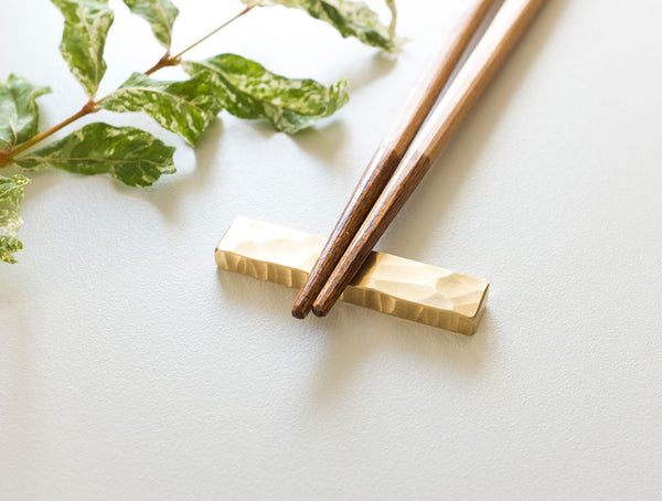 Brass Chopstick Rest