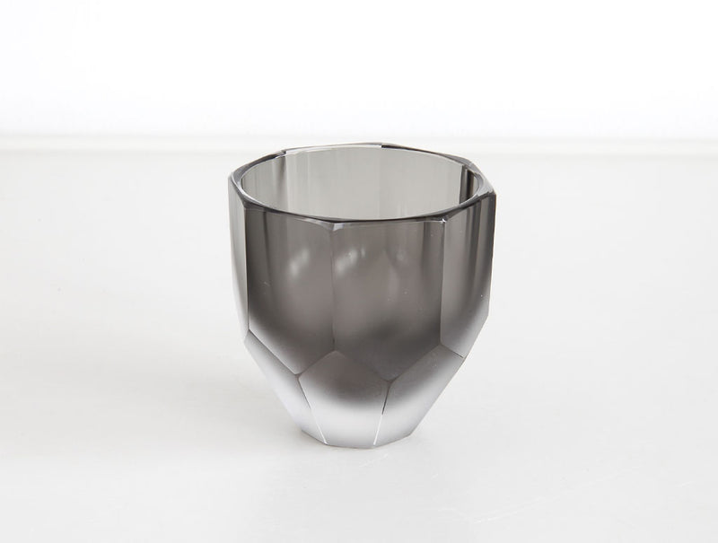 Black Sake Glass