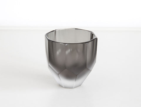 Black Sake Glass by Yuki Osako