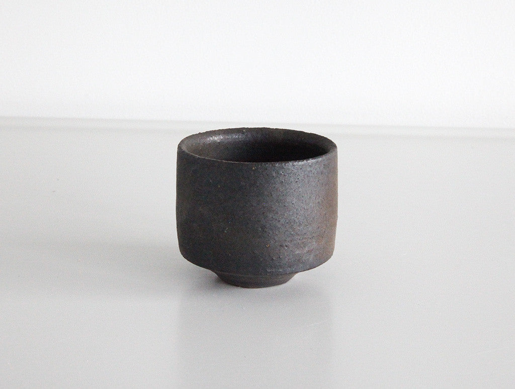 Copper Sake Cup Low by Shinobu Hashimoto at OEN Shop